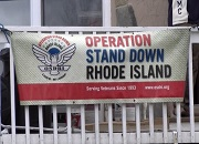 Photo of Stand Down Banner