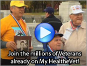 Join the millions of Veterans already on MyHealtheVet!