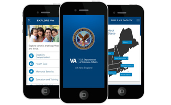 VA New England Mobile Application