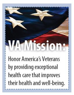 VA Mission: Honor America's Veterans by providing exceptional health care that improves their health and well-being.